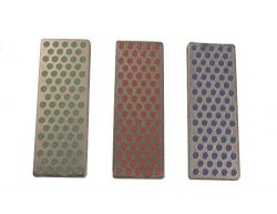 DMT W7EFC Diamond Whetstone Mini Diamond Stone – Coarse/Fine / Extra-Fine – Set of 3