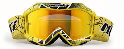 MX Goggles For Kids Youth By NENKI For Motocross Motorcycle Dirt Bike ATV Offroad Ski Snowboard  ...