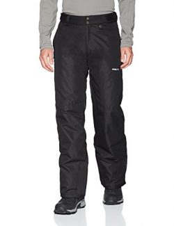 Arctix Men's Overalls Tundra Bib With Added Visibility,Black, Small/Short