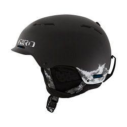 Giro Mens Ski Snow Freestyle Helmet Discord Matte Black Rocksteady 68061050010 S