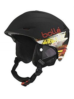 Bolle Sharp Helmets, Soft Black/Red, 58-61 cm