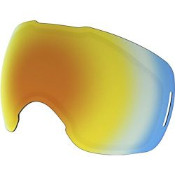 Oakley Men's Airbrake Snow Goggle Replacement Lens, Medium, Fire Iridium, Medium
