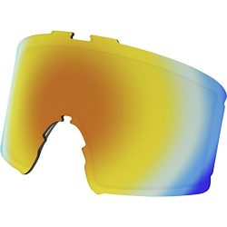 Oakley Men's Line Miner Snow Goggle Replacement Lens, Fire Iridium, Fire Iridium, Large