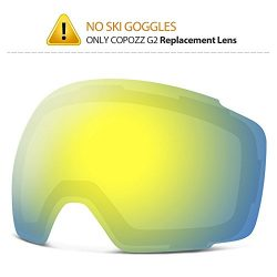 COPOZZ Ski Goggles, G2 Magnetic Snowboard Snow Goggles -2 Seconds Quick Change Lens, Imported Do ...
