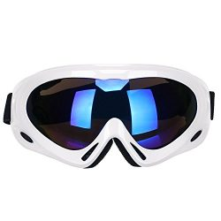 GARDOM Ski Goggles, Snowboard Goggles Safety Glasses Lightweight Unbreakable UV Resistant with A ...