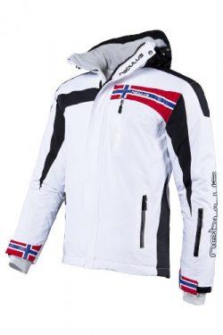 Nebulus Ski Jacket FREESTYLE, men, white, size XL, Q 681