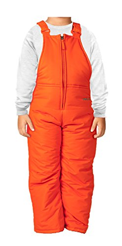 Arctix Infant/Toddler Insulated Snow Bib Overalls,Sunset Orange,5T