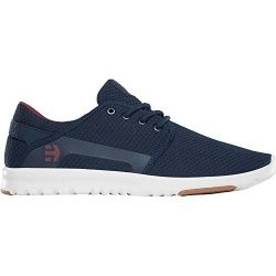Etnies Men's Scout Skate Shoe, Navy/Red, 10.5 Medium US