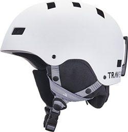 Traverse Sports Dirus Convertible Ski & Snowboard/Bike & Helmet, Matte Snowcap, Medium ( ...