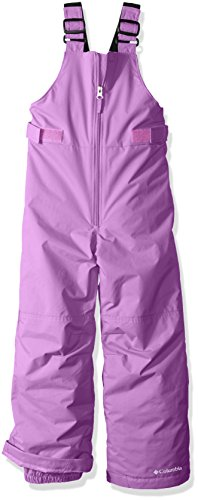Columbia Little Girls' Snowslope II Bib, Crown Jewel, 3T