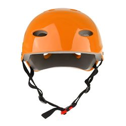 MagiDeal CE Approved Water Sports Safety Helmet S/M/L – Orange, S