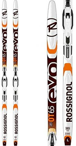 Rossignol Evo OT 65 IFP Positrack XC Skis w/Control Step In Bindings Sz 195cm