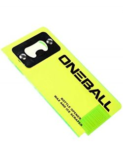 OneBallJay  Ski and Snowboard Wax Scraper W/  Built in Bottle Opener