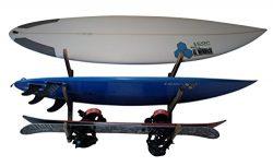 COR Boardracks Surfboard Multi Wall Rack / Display Rack / for Surfboards Wakeboards Kiteboards S ...