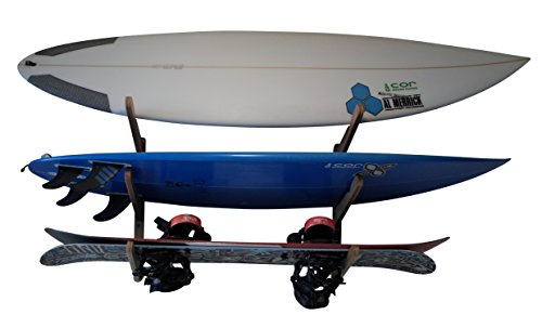 COR Boardracks Surfboard Multi Wall Rack / Display Rack / for Surfboards Wakeboards Kiteboards S ...