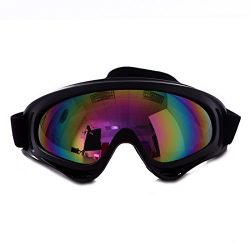 HDE Ski Goggles Snow Glasses UV Protection Eyewear Scratch Resistant Lens for Outdoor Winter Spo ...