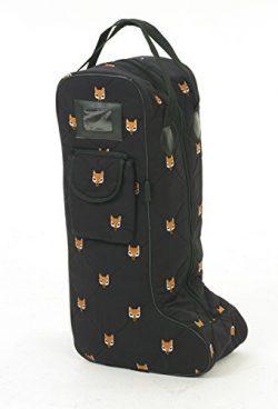 Centaur Embroidered Fox Boot Bag