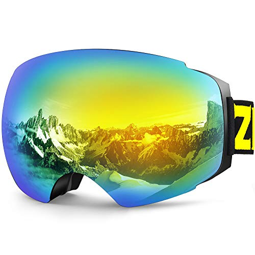 1bed54046b8 Zionor X4 Ski Snowboard Snow Goggles Magnet Dual Layers Lens Spherical  Design Anti-Fog UV. x