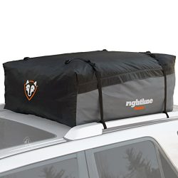 Rightline Gear 100S20 Sport 2 Car Top Carrier, 15 cu ft, Waterproof, Attaches With or Without Ro ...