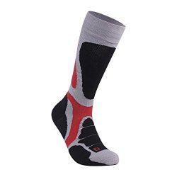 Over the Calf Extra Cushion Socks, ZEALWOOD Valentines Gift Outdoor Socks Warm Winter Climbing S ...