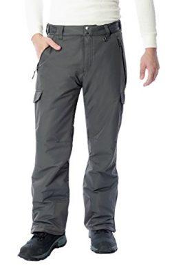 Arctix Men's 1960 Snow Sports Cargo Pants, XX-Large, Charcoal