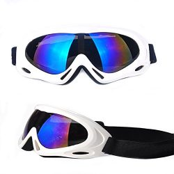 Feier Yusi Adult Professional Ski Goggles Snowmobile Snowboard Skate Snow Skiing Goggles with 10 ...