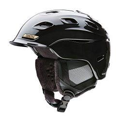 Smith Optics Vantage Womens Ski Snowmobile Helmet – Black Pearl / Medium