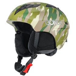 Gonex Ski Helmet Winter Snow Snowboard Skate Helmet Safety Certification Men, Women & Young  ...