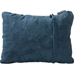 Therm-a-Rest Compressible Travel Pillow for Camping, Backpacking, Airplanes and Road Trips, Deni ...