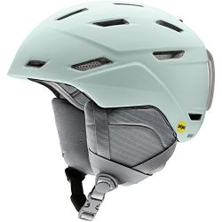 Smith Optics Mirage-Mips Women's Ski Snowmobile Helmet – Matte Ice/Medium