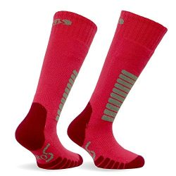 Eurosocks Jr. Ski Supreme Socks, Hot Pink, XXX-Small