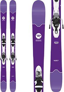 Rossignol Sassy 7 Skis + Xpress 11 Bindings – 2018 Women's (160)