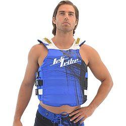 Spike USCG Life Vest PWC Jetski Ride & Race Jet Ski Vest (Blue, L/XL)