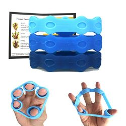 Frelaxy Finger Stretcher Hand Extensor Exerciser Set, Extra Thick & Upgraded Design, Finger  ...