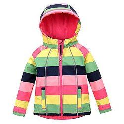 M2C Outdoor Kids Thermal Fleece Sweater Windproof Coat Red 6T