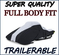 Super Quality, Full Fit Snowmobile Sled cover fits Ski Doo Bombardier Freestyle Back Country 200 ...