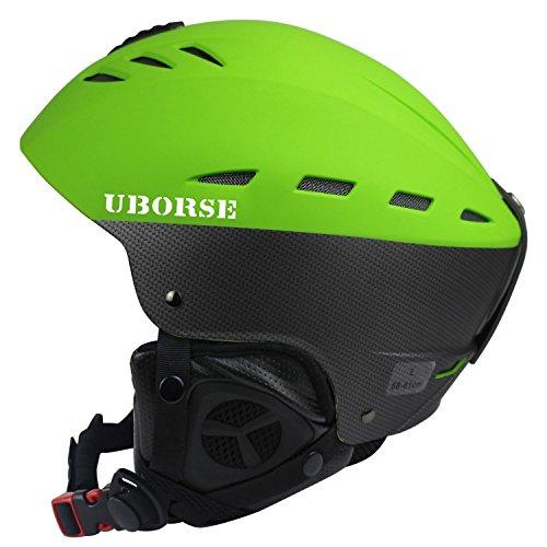 UBORSE Ski Helmet Windproof Lightweight Professional Outdoors Skate Helmet with Airflow Climate  ...