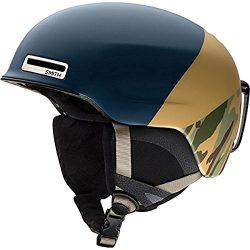 Smith Optics Adult Maze Ski Snowmobile Helmet – Matte Navy Camo / Small