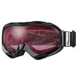 OutdoorMaster OTG Ski Goggles – Over Glasses Ski / Snowboard Goggles for Men, Women &  ...