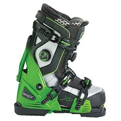 Apex Alpine Ski Boots, Medium/Size 27, Green