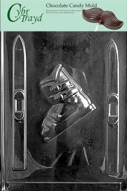 Cybrtrayd S005 Sports Chocolate Candy Mold, Skis and Boots
