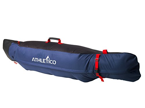 Athletico Freestyle Padded Snowboard Bag – Travel Bag for Single Snowboard Up to 175cm (Bl ...