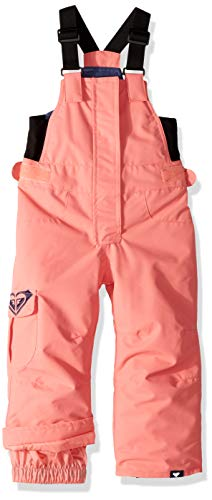 Roxy Toddler Girls' Lola Snow Pant, Shell Pink, 2