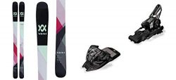 Volkl Yumi 154cm Skis 2018 & Marker M 11.0 TC EPS 90mm Black Bindings