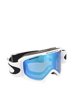 Oakley 59-364 02 XL Snow Goggle, Matte White with Violet Iridium Lens