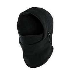 Fashion 6 in 1 Neck Fleece Hood Ski Mask Warm Helmet Winter Face Hat