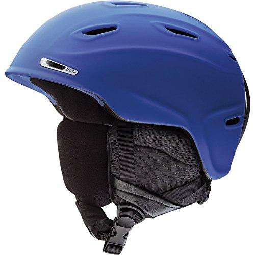 Smith Optics Adult Aspect Ski Snowmobile Helmet – Matte Klein Blue / Medium