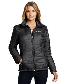 Columbia Women's Mighty Lite III Jacket, Large, Black