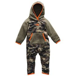 The North Face Infant Glacr One Pc – New Taupe Green Camouflage Print – 18M