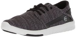 Etnies Men's Scout Skate Shoe, Black/Heather, 11 Medium US